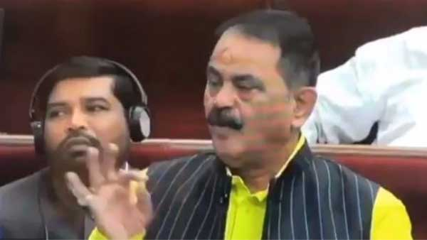 Here is why this Congress MLA blew flying kisses to the Odisha speaker