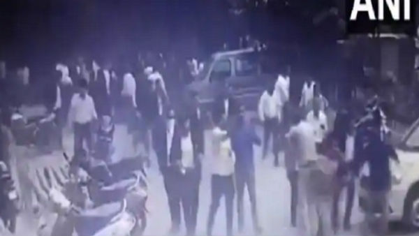 Tis Hazari clash: Fresh CCTV footage shows Lawyers chasing, harassing woman DCP