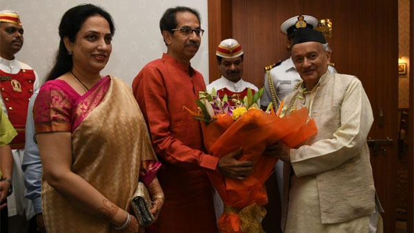 Uddhav Thackeray meets Governor Koshyari ahead of taking over as chief minister