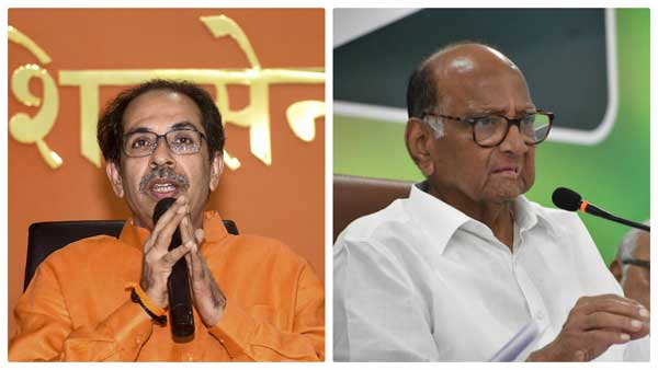 Uddhav Thackeray and Sharad Pawar
