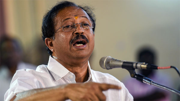 Minister of State (MoS) for External Affairs V Muraleedharan
