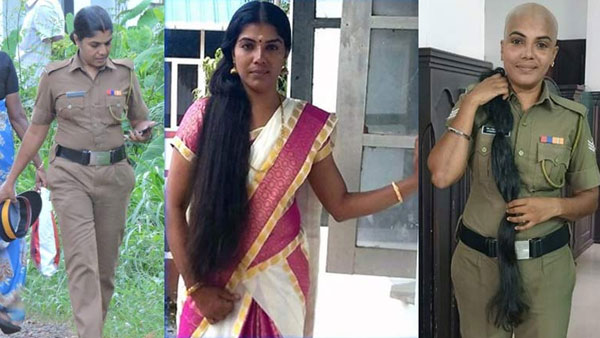 Bald & beautiful: Rapunzel cop does her bit for cancer patients, wins hearts