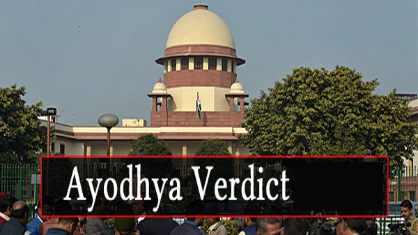 Ayodhya Verdict LIVE: Historic judgment in few hours from now