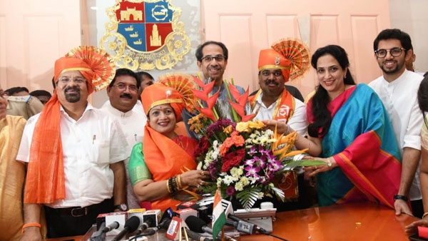 Shiv Senas Kishori Pednekar named Mumbai's new Mayor