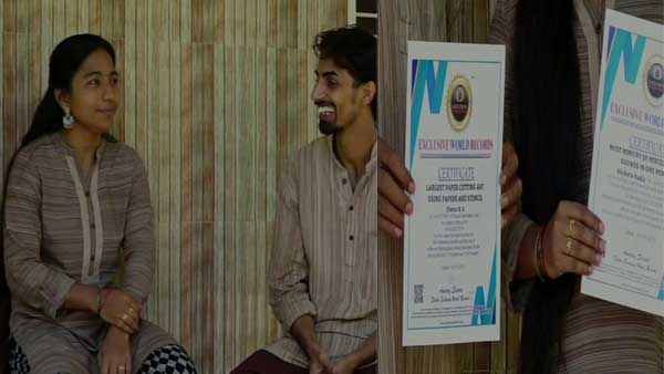 40 mimicries in a minute: Mangalore couple enter Exclusive World Records