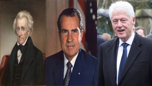 The three other US Presidents other than Donal Trump who were impeached