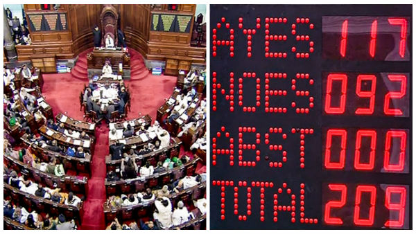 Citizenship (Amendment) Bill: In numbers, how the Rajya Sabha voted