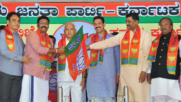 Karnataka by-elections: BJP appears to be cruising through