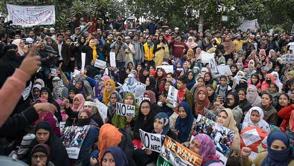 Hum kagaz nahi dikhayenge: People march in Delhi in support of Jamia students