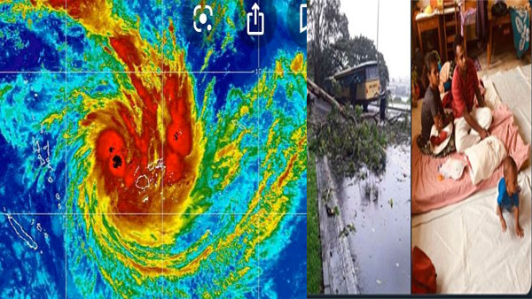 More than 2,000 evacuated as dreadful cyclone 'Sarai' hammers Fiji
