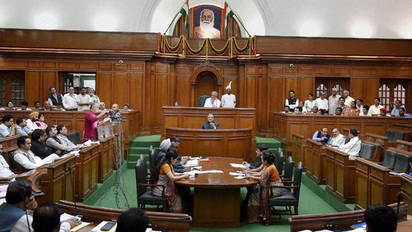 BJP MLAs walkout of Winter Session of Delhi Assembly over dirty water supply