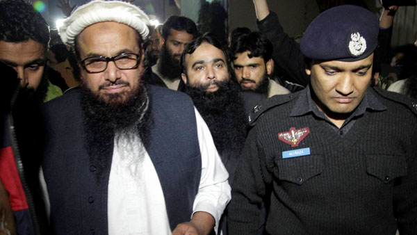 Pakistan court indicts 4 close aides of Hafiz Saeed in terror financing cases