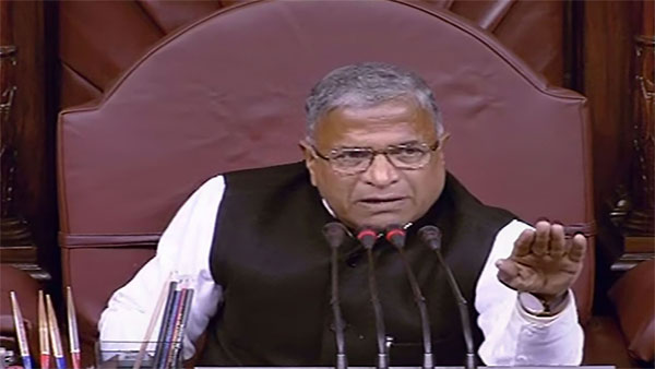 Monsoon Session: Rajya Sabha Deputy Chairman Harivansh breaks his one-day fast
