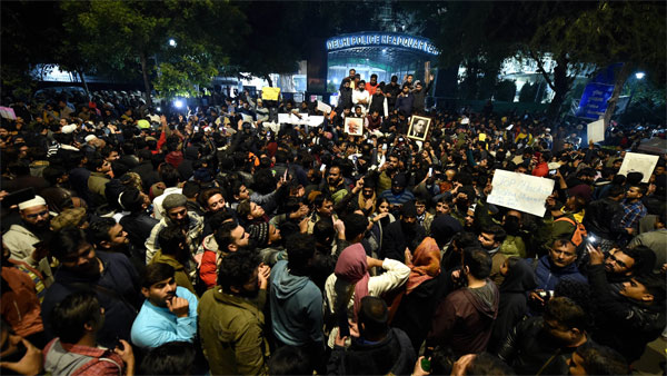 CAA protests: Jamia students released by cops
