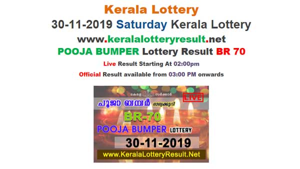 Kerala State Lottery Pooja Bumper Result: Full list of winning numbers