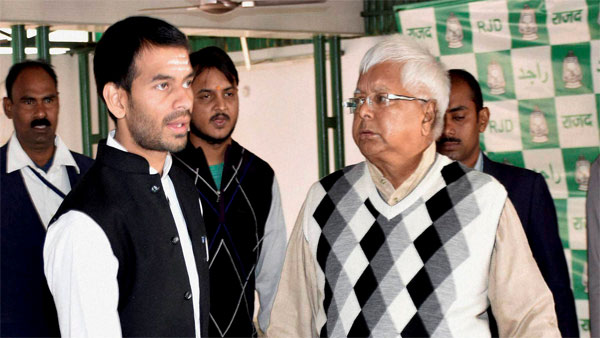 A new low hits the family drama surrounding Lalu and son