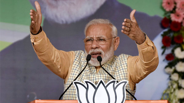 PM Modi cautions people in Jharkhand against Congress