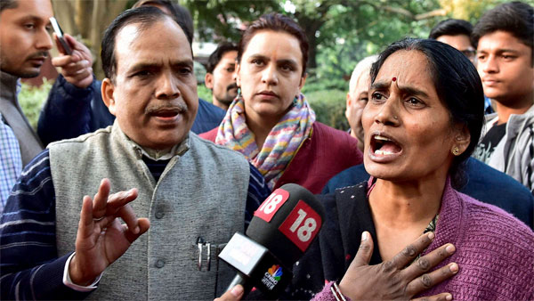 File photo of Nirbhayas parents