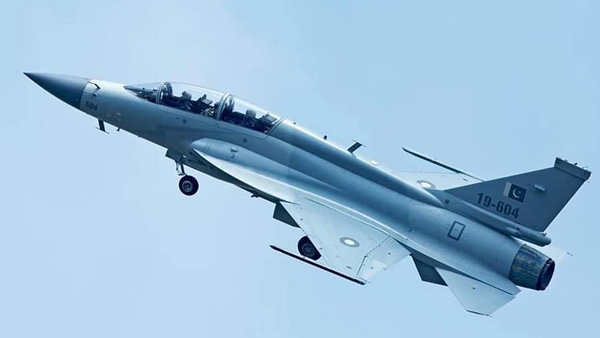 China made dual seat fighter jets rolled out by Pakistan