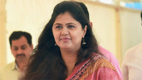 File photo of Pankaja Munde