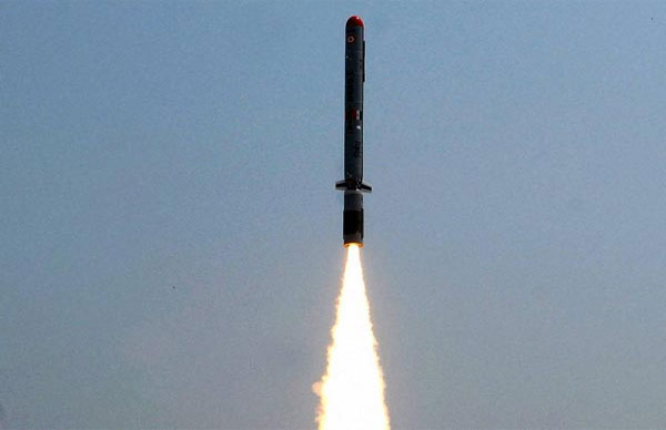 Upgraded version of Pinaka guided rocket system successfully test-fired from Odisha coast