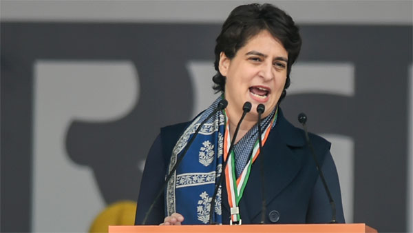 Country is fed up of your lies, Priyanka Vadra hits out at Modi govt over NRC row