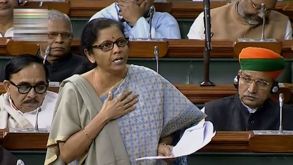 Every women in our party is sabla, Nirmala Sitharaman responds to Nirbala jibe