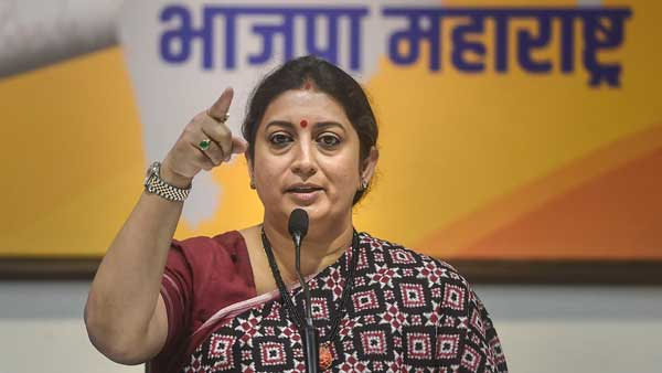 Mamatas referendum remark over citizenship law an insult to Parliament: Smriti Irani