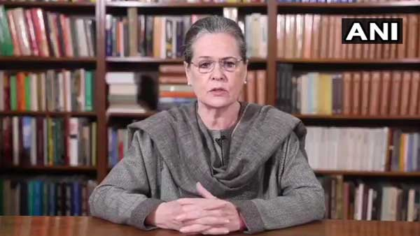 Govt showing utter disregard for peoples voices: Sonia Gandhi on anti-CAA protest