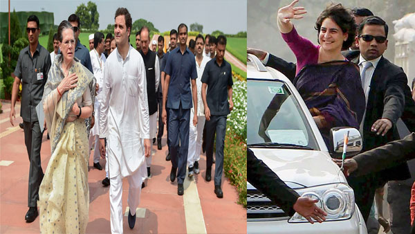 Security is not a status symbol: Here is how many times Rahul, Sonia, Priyanka violated SPG norms