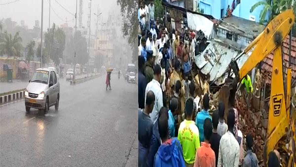 TN: 9 people killed after wall collapse due to heavy rainfall