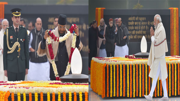 Kovind, PM Modi pay tributes to Vajpayee on his 95th birth anniversary