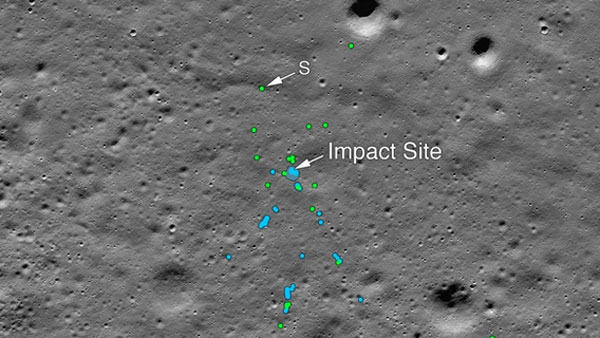 NASA finds crashed Vikram Lander: See image