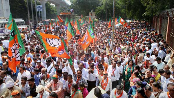 BJP's vote share is up since 2014, but its down in the number of seats at Jharkhand