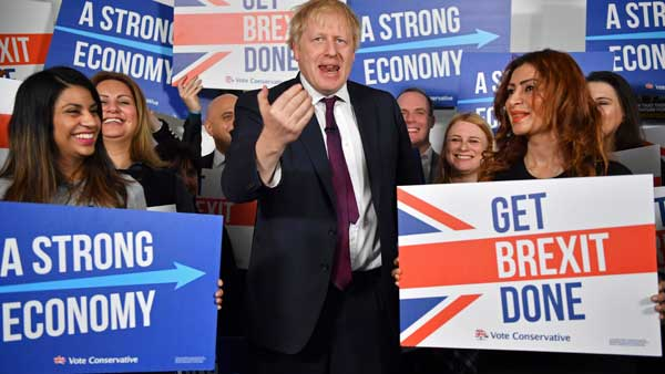 Conservatives, led by Boris Johnson wins UK's Brexit election with 326 votes