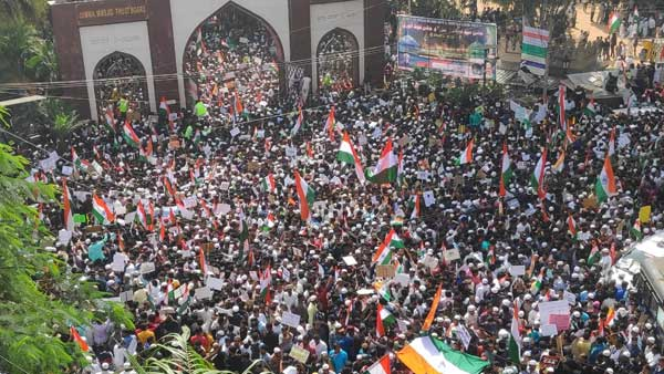 Bengaluru split over CAA as Thousands join Peace rally of Muslim outfits