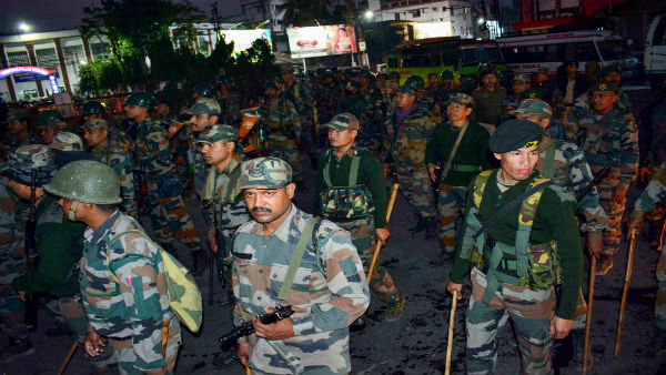 CAB protests: People defy curfew in Guwahati, Army conducts flag march