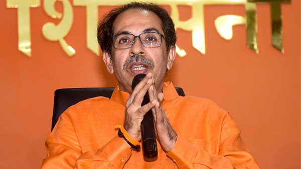 File photo of Uddhav Thackeray