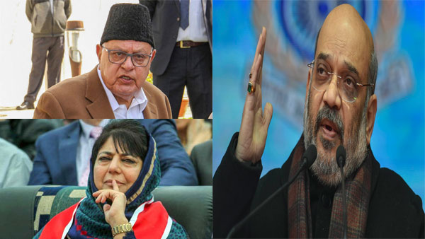 Amit Shah explains why Farooq Abdullah, Mehbooba Mufti had to be detained