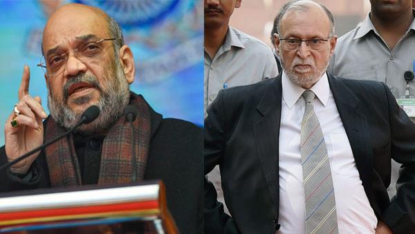 Amit Shah tells Delhi LG to fix problem at JNU