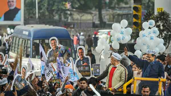 Delhi elections 2020: Delayed by roadshow, Kejriwal to file nomination today