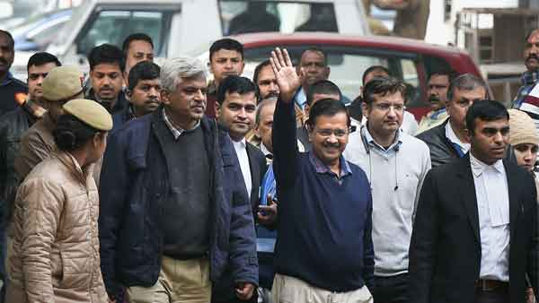 After waiting for 6 hours, Kejriwal files nomination for Delhi Assembly polls