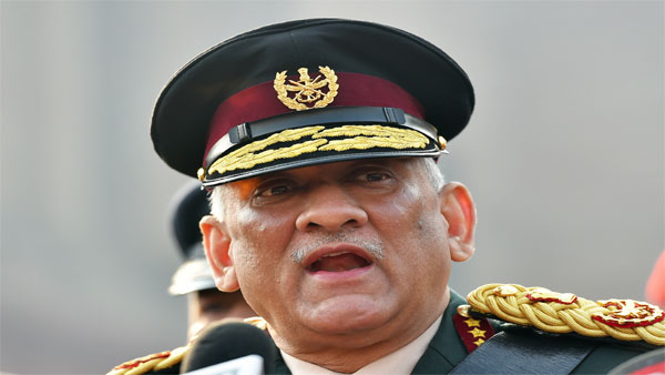 Indias first Chief of Defence Staff (CDS) Gen Bipin Rawat
