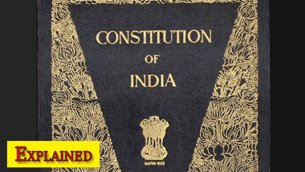 Explained: What is the Preamble of the Indian Constitution