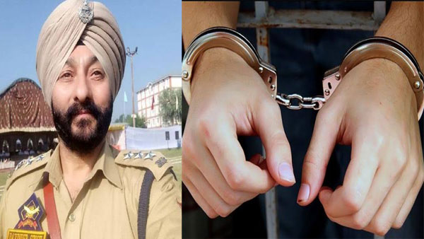Davinder Singh: Relative of terrorist detained