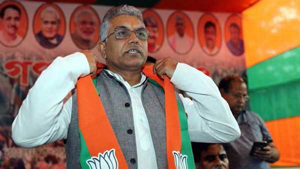 Will bash you with lathis, shoot, put you in jail: Dilip Ghosh on arson during anti-CAA stir