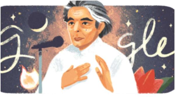 Google Doodle pays tribute to late lyricist Kaifi Azmi