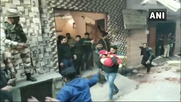13 hospitalised, 3 missing after building collapses in Delhi's Bhajanpura