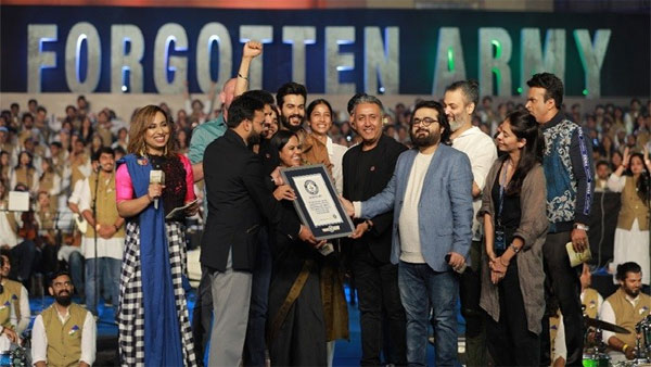 Filmmaker Kabir Khans The Forgotten Army makes Guinness World Record