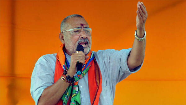 Indians abroad forgo values, eat beef: Giriraj Singh stokes controversy again